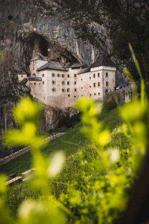 Predjama Castle in Postojna Cave park