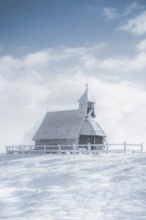 Marija Snežna Church at Velika Planina