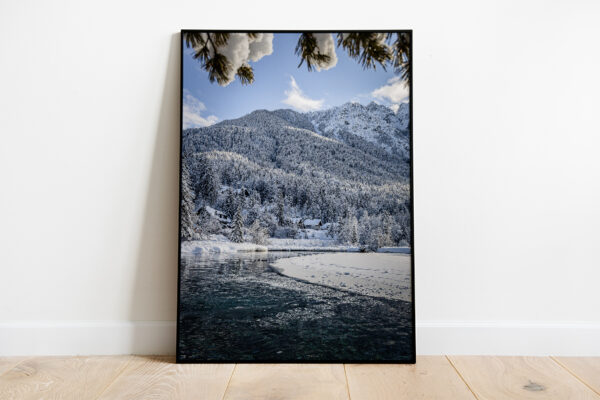 Fairytale at Lake Jasna preview framed picture