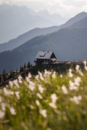 Mountain hut in Golica